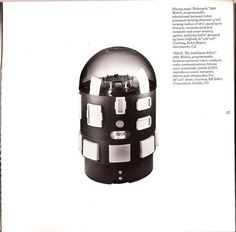 The Intelligent Robot - 1982 Working Robots, Intelligent Robot, Craft Museum, American Crafts, 1980s, Concept, Technology, Eyes, Blog