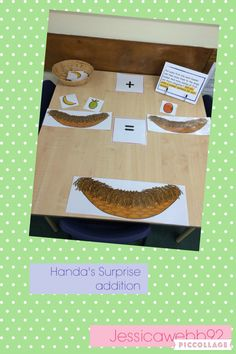 Handa's Surprise addition. EYFS