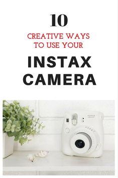 10 Creative Photo Ideas | Fujifilm Instax Mini 8 Instax Mini Camera, Fujifilm Instax Mini 8, Instax 90, Fujifilm Polaroid, Fuji Instax, Polaroid Camera, Instax Tips, Instax Mini Ideas, Diy Photo
