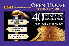 LSU School of Veterinary Medicine Hosts 31st Annual Open House, Saturday, February 2