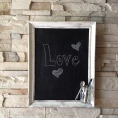Shabby Chic Antique Style Framed Chalkboard  Framed by JabberDuck, $39.00