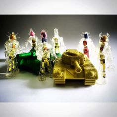 Clear Techno Ion Men with Tanks. Series 17