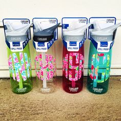 Personalized Camelbak Water Bottle on Etsy, $25.00