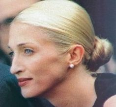 Carolyn Bessett introduced me to the low bun.