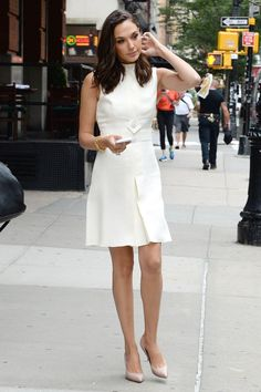 Image result for gal gadot daisy dress