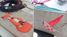 Malen mit der Nähmaschine - Nähen lernen - makerist Kurs