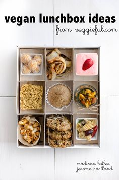 Veggieful: Vegan Lunchbox Ideas