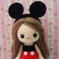 Ruby amigurumi crochet pattern by Berriiiz