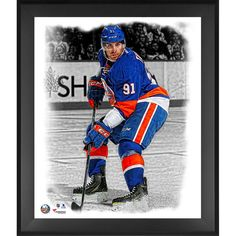 John Tavares New York Islanders Fanatics Authentic Framed 20'' x 24'' In the Zone Photograph