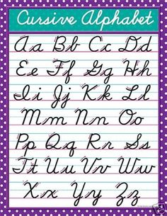 Worksheets Pinakatay Alphabet a to z cursive letters view zs handwriting alphabet i have project in mind that will need this for the spot light hopefully find note self so dont fo