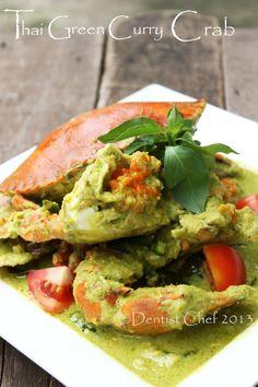recipe crab thai green curry hot spicy