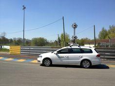 La MappyCar sur le circuit des 24H du Mans