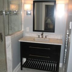 Create Photo Gallery For Website Bathroom Remodel with Carrera Marble Steam Shower by Hatchett Design Remodel