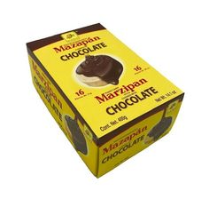 De la Rosa Marzipan covered with Chocolate 16 pcs Giant Marshmallows, Mexican Sweet Breads, Peanut Candy, Mexican Candy, Sweet Peanuts, Chocolate Covered Peanuts, Online Grocery Store, Mexican Chocolate, Chewy Candy