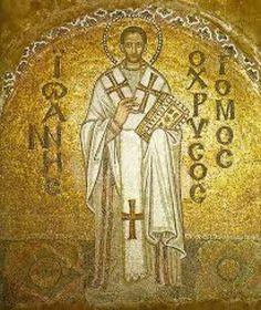 Benedicto XVI propuso el ejemplo de san Juan Crisóstomo para superar el gran cisma