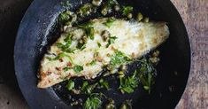 A lemon sole recipe by Rachel Khoo for a delicious poisson meunière, with lemon sole cooked in a lemon and brown butter sauce.