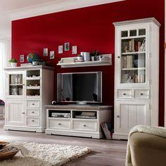 Serie Opum in Landhaus-Optik - ein echter Hingucker. #Kiefer #Massivholz #Wohnzimmer findet ihr unter www.moebel-ideal.de