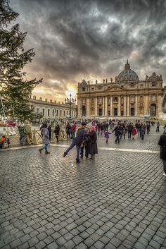 Natale in San Pietro, (Ciudad del Vaticano)  Italy
