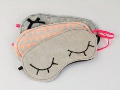 Tutoriel DIY: Coudre soi-même un masque de nuit via DaWanda.com Plus