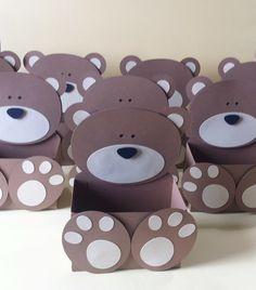 Teddy Bear Day, Teddy Bear Birthday, 1st Boy Birthday, Kids Crafts, Diy Crafts For Gifts, Arts And Crafts, Teddy Bear Baby Shower, Baby Boy Shower, Baby Tea