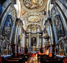 The Church of St Elizabeth (Bratislava, Slovakia) Christmas Travel, Kirchen, European Travel, Slovenia, Mosque, Continents, Hungary, Croatia, Barcelona Cathedral
