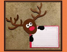 Rockin' reindeer writing prompts and many more holiday activities!