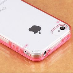 TPU Rubber Gel Ultra Thin Case Cover Transparent Clear For Apple iPhone 4 4G 4S