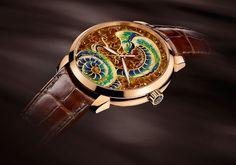 Ulysse Nardin Classico Serpent, a limited gold watch for BaselWorld 2013 Amazing Watches, Beautiful Watches, Fine Watches, Watches For Men, Men's Watches, Fire Snake, Zodiac Watches, Gentleman Watch, Chinese Zodiac