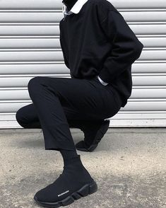 02fc5a924170 Androgynous Clothing, Emo Goth, Men's Outfits, Cool Outfits, Cold Weather  Fashion,