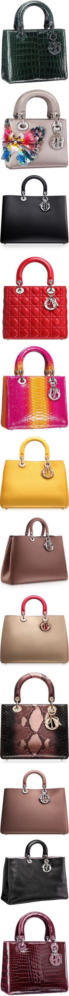 Dior bags ♥✤ | Keep the Glamour | BeStayBeautiful