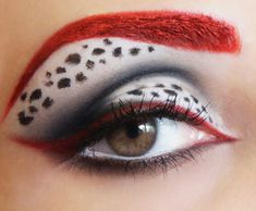 101 Dalmatians Inspired Makeup by marymakeup