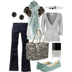 wintry mix, created by htotheb on Polyvore