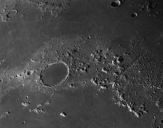 Plato and the Lunar Alps via NASA... | Naples Wine Aficionados