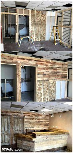 Build Your Own Pallet Bar | 101 Pallets
