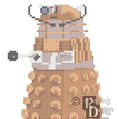 When Art and Scifi Collide, Dalik Cross Stitch Pattern PDF