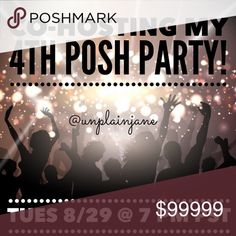 It's Party Time! Co-hosting my 4th Party on Tuesday 8/29 @ 7 PM PST. Posh Compliant Closets will only be considered for host picks! Theme is unknown but please share and like to be notified once I get the theme. Happy Poshing! Christian Louboutin Shoes Heels