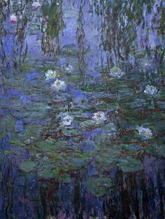 Monet, Water Lilies