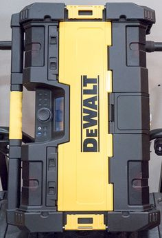 Dewalt ToughSystem Bluetooth Radio Top
