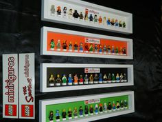 Handmade Display case for LEGO minifigure von MissIrisCreations