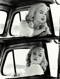 "Photographed on location in Nevada during the production of ""The Misfits"", 1960"