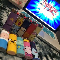 Adventure Time Character Lighter by FoxgloveCollective on Etsy