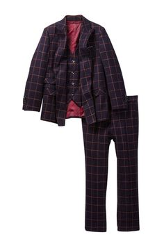 Three Piece Double-Breasted Suit (Toddler, Little Boys, & Big Boys)