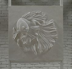 Resultado de imagen para bernie mitchell drywall sculpture