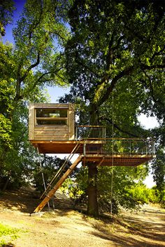 Cabins in the Canopy: 13 Modern Tree Houses by Baumraum | 3 | Urbanist