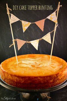 DIY Cake Topper Bunting