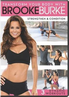 Brooke Burke launches new workout DVDs