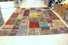 Ampliación 8 x 10 pies Vintage alfombra hecha a por UniqueRugStore