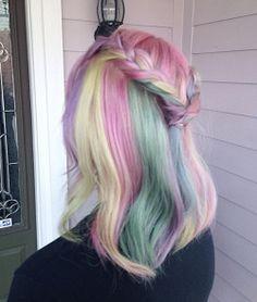 amandahair3ypotterhead:  My pretty pastel hailee!!