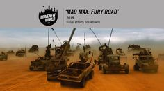 Brave New World has shared an amazing visual effects breakdown of how they helped to bring George Miller's beautiful film, Mad Max: Fury Road, to life. Tom Hardy Mad Max, Mad Max Fury Road, Beautiful Film, Brave New World, Visual Effects, Feature Film, Cgi, Filmmaking, Behind The Scenes
