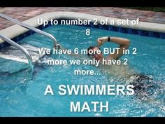 We swimmers are optimistic people.